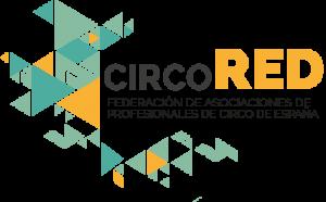 Logotipo CircoRed Federación de Asociaciones de Profesionales de Circo de España